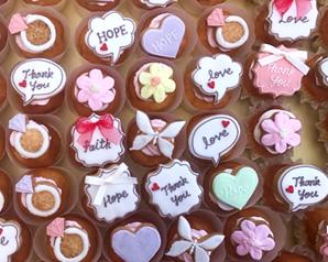 カップケーキ+アイシングクッキー